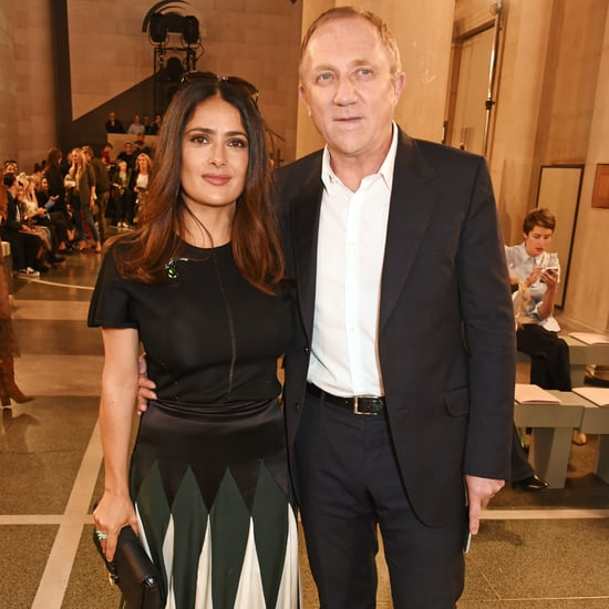 Salma Hayek's Skirt at London Fashion Week Spring 2017
