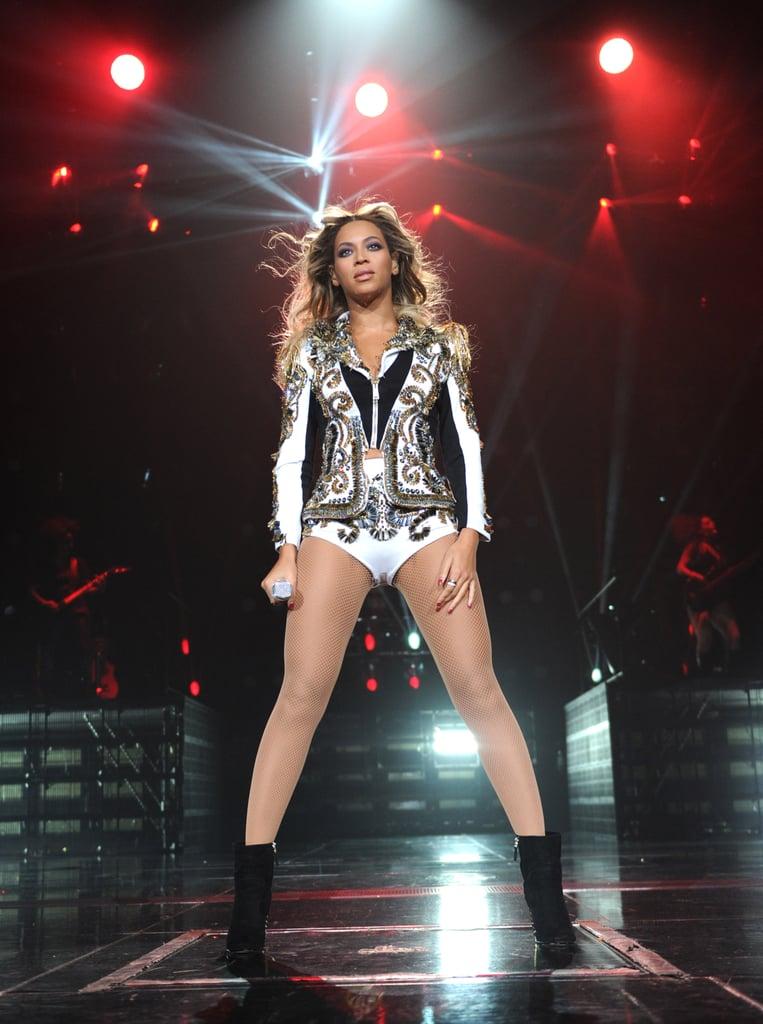 mrs carter bodysuit Beyonce tour