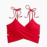 J.Crew Longline Wrap Bikini Top