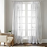 Daisy Sheer Window Curtains ($30)