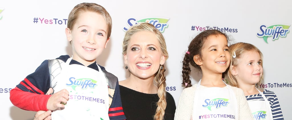 Sarah Michelle Gellar Has a Cookie-Filled Date With Adorable Kids in NYC