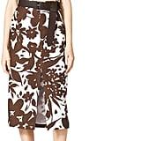 Michael Kors Strapless Cutout Floral-Print Dress ($1,775)
