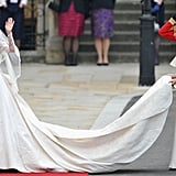 Kate Middleton Looked Lovely at Her Wedding — but Pippa's Alexander McQueen Dress Stole the Spotlight