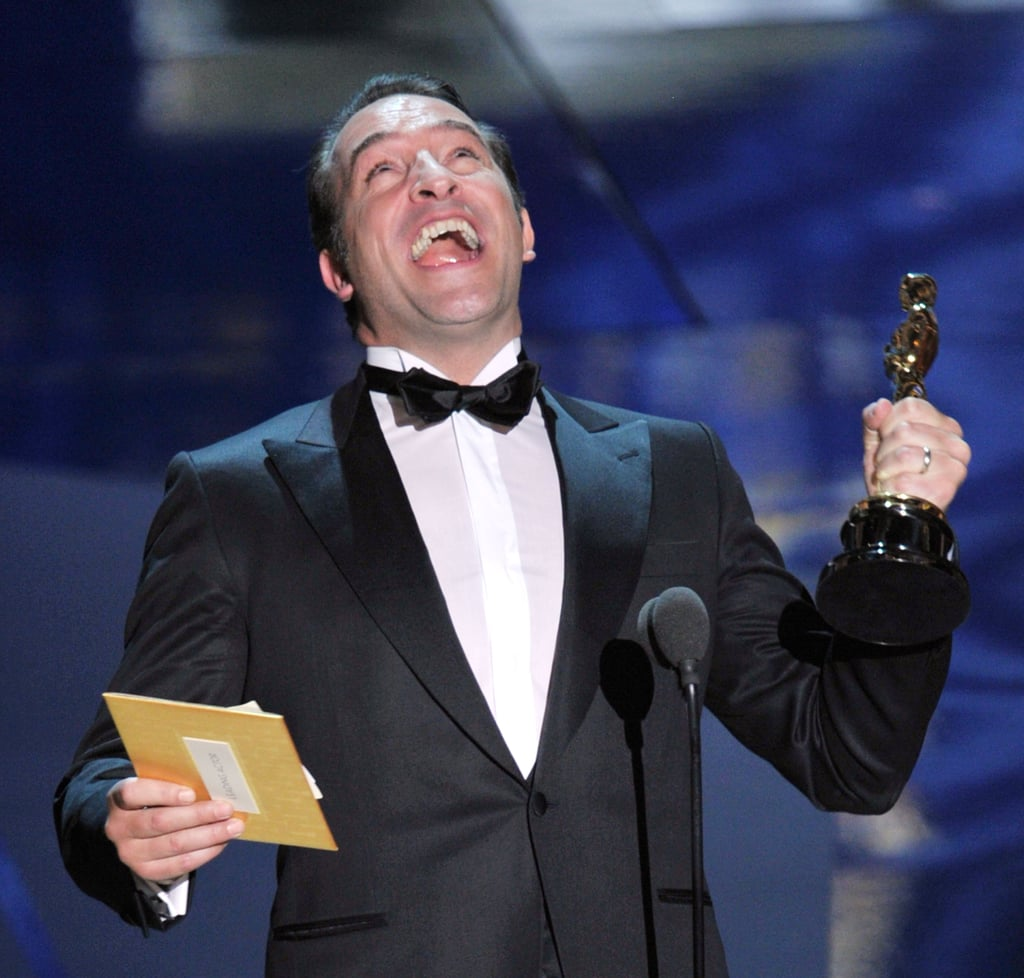 2012 oscars show pictures winners and highlights for Dujardin automobile