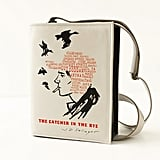 The Catcher in the Rye Black Leather Book Purse ($170-$235)
