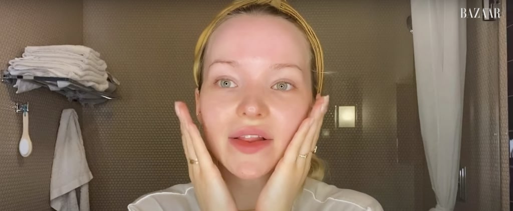 Dove Cameron's Nighttime Skin-Care Routine Video