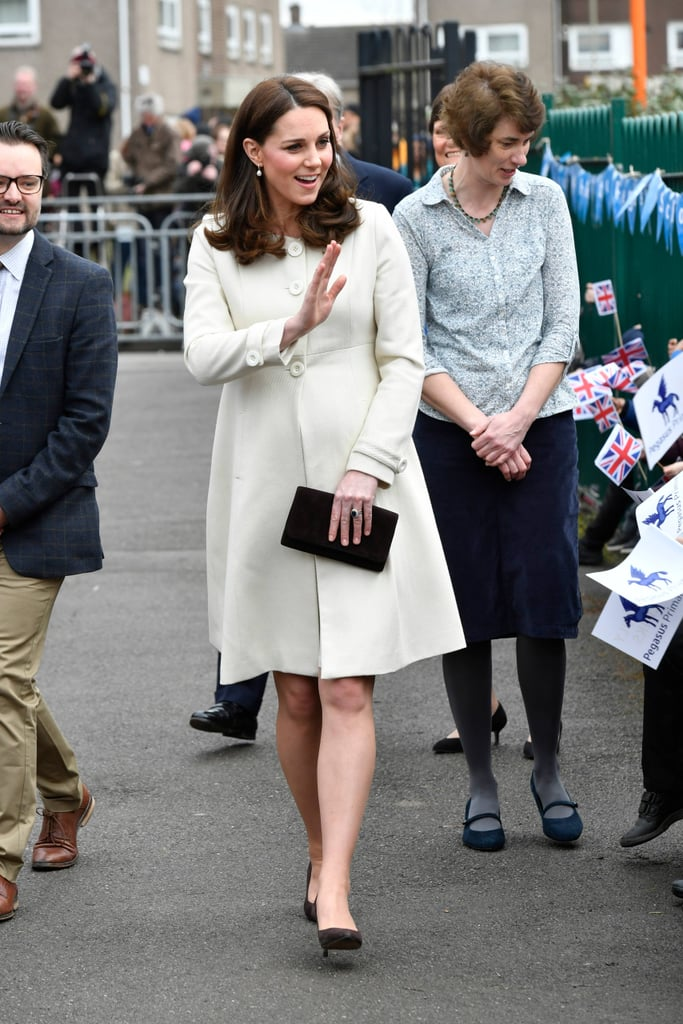 Kate Middleton's Cream Jojo Maman Bebe Coat