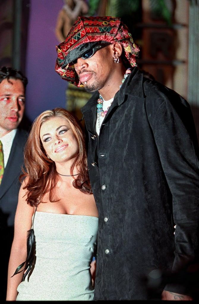 Carmen Electra and Dennis Rodman — 9 Days | Shortest Celebrity ...