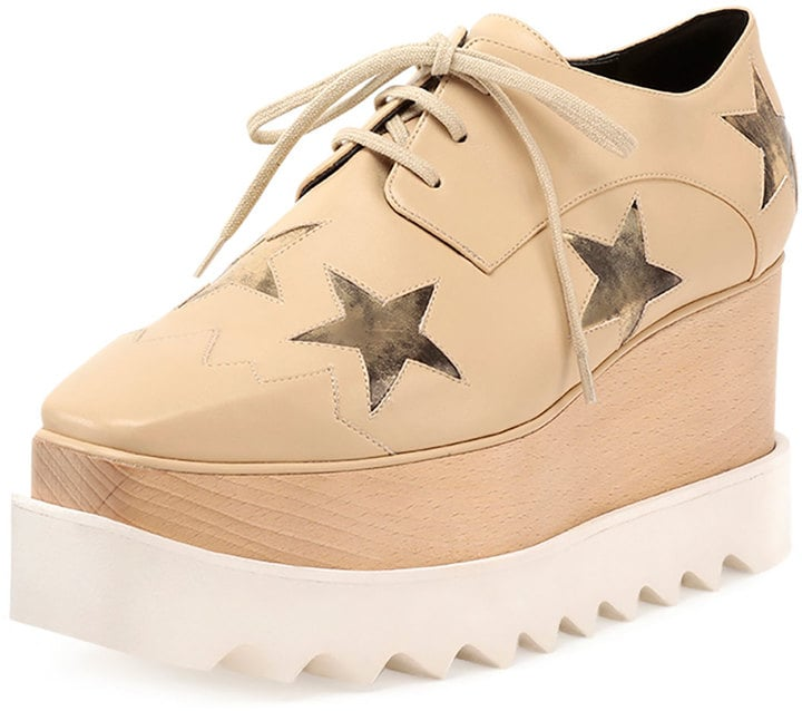 Star Elyse platform shoes - Metallic Stella McCartney