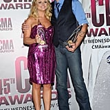 Reese Joins Country's Biggest Stars and Taylor Makes History at CMA Awards in Nashville