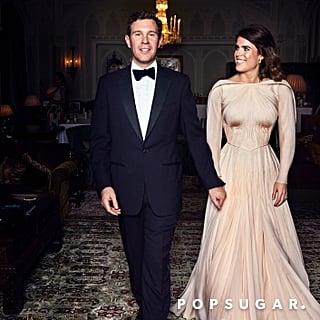 Princess Eugenie's Wedding Reception Dress