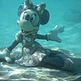 You can snorkel out to see underwater character statues and more.