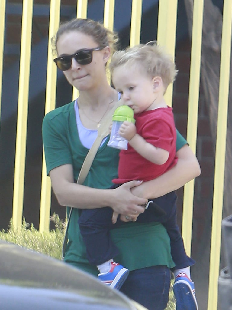 Natalie Portman was out in LA with her son, Aleph.