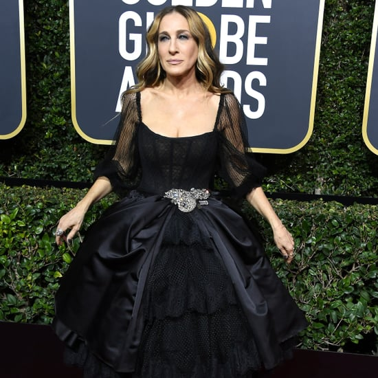 Time's Up Pin at the Golden Globes 2018
