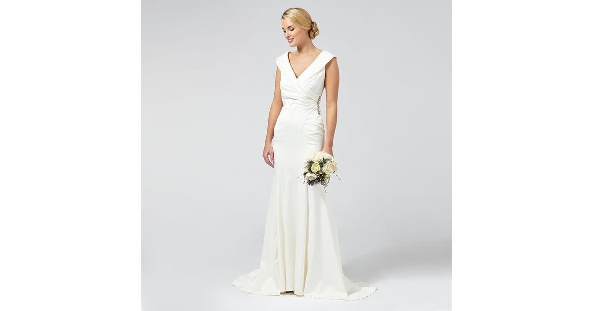 Debut samantha satin bridal dress 230 affordable off for Where to buy off the rack wedding dresses