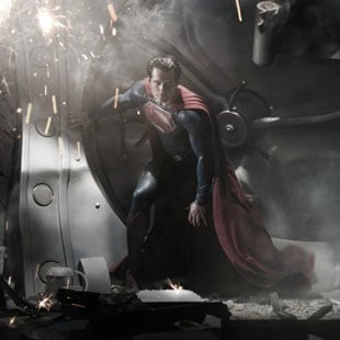 First Picture of Henry Cavill as Superman in Man of Steel