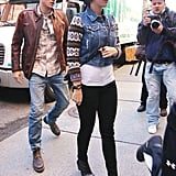 Katy Perry and John Mayer stepped out together.