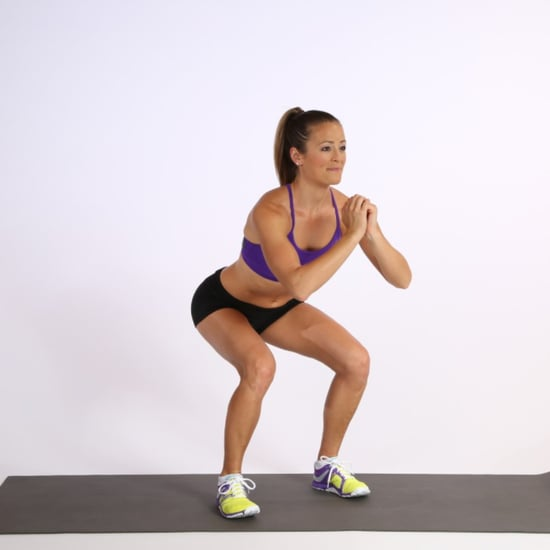 Squat With Leg Lift