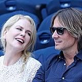 Nicole Kidman and Keith Urban at the Australian Open 2019