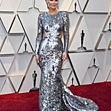 Molly Sims at the 2019 Oscars