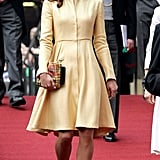 Kate Middleton attended the Thistle Ceremony in Edinburgh.