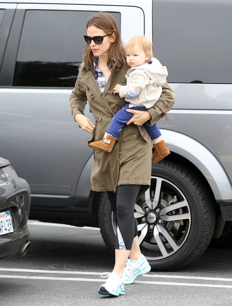 Jennifer Garner Brings Samuel Along For Brunch