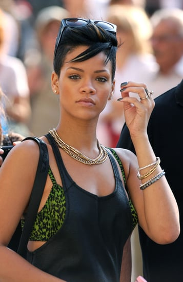 Rihanna playing the tourist in Venice,Italy last week