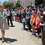 Queen Maxima's Mattijs Van Bergen Dress