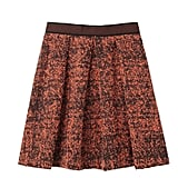 We love the artsy print and Autumn hues on this Proenza Schouler Full Skirt With Peplum Detail ($795).