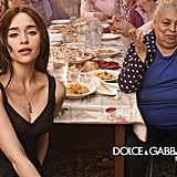 Emilia Clarke Stars in Dolce & Gabbana's The One Fragrance Campaign