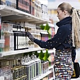 And even shopped at a Chanel grocery store for Autumn 2014.
