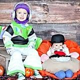 Buzz Lightyear and Mr. Potato Head