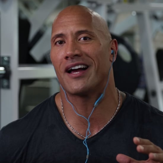Dwayne Johnson Reacts to His First WWE Match Video 2016