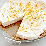 No-Bake Orange Spice Cheesecake Pie