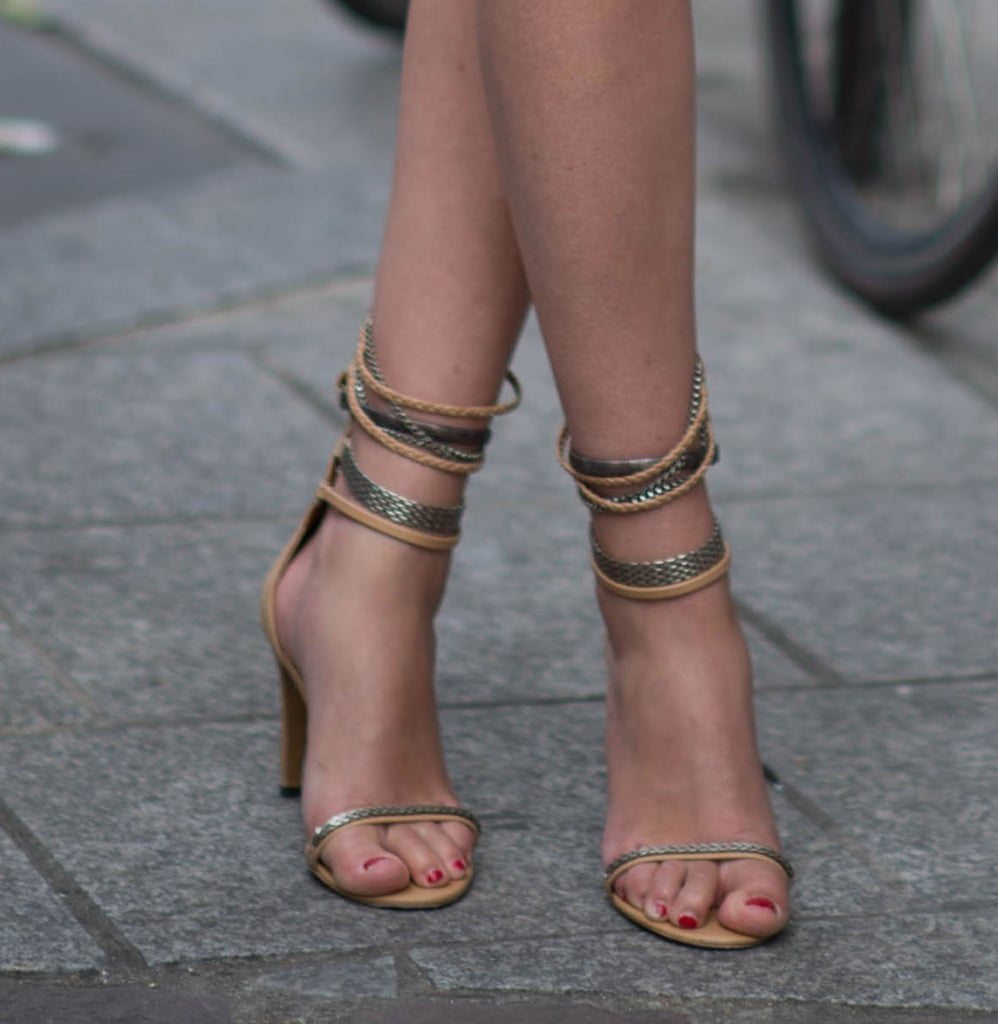 These Isabel Marant ankle-wrap sandals are the sexiest kind of Summer footwear.