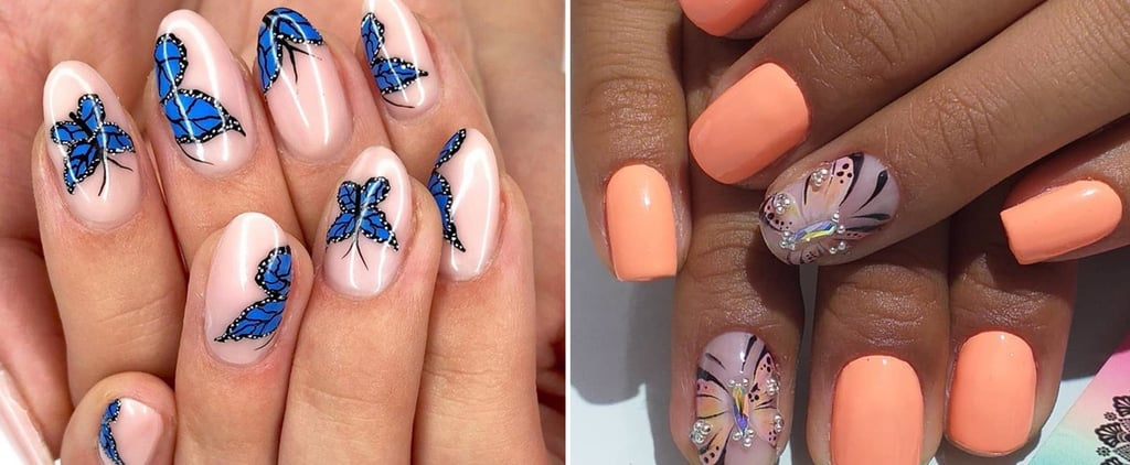 Butterfly Nail Art Trend