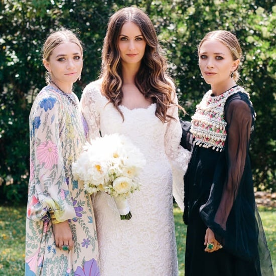 Mary-Kate and Ashley's Wedding Dress Matched the Ceremony Perfectly