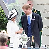 June: Meghan and Harry Made Their Royal Ascot Debut as a Married Couple