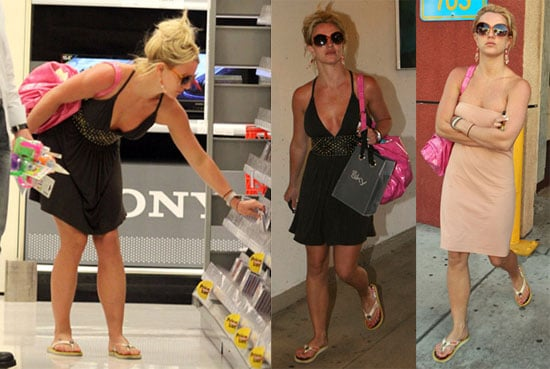 Photos of Britney Spears Shopping at a Target in Calabasas