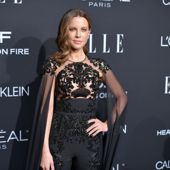 Kate Beckinsale's Sled Pushes Workout