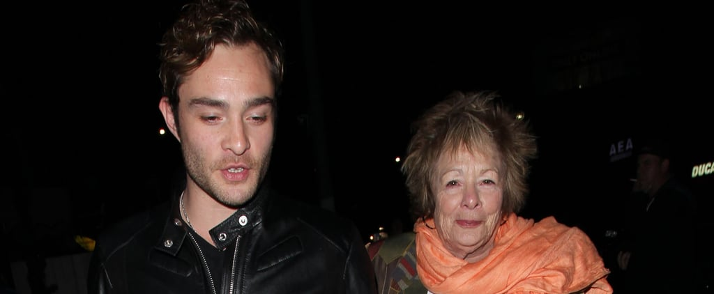 Ed Westwick Enjoys a Sweet Night Out With His Adorable Mom