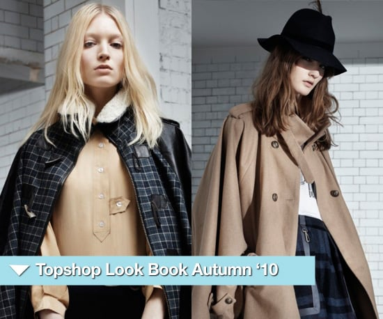 Photos from the Topshop Look Book for Autumn Winter 2010