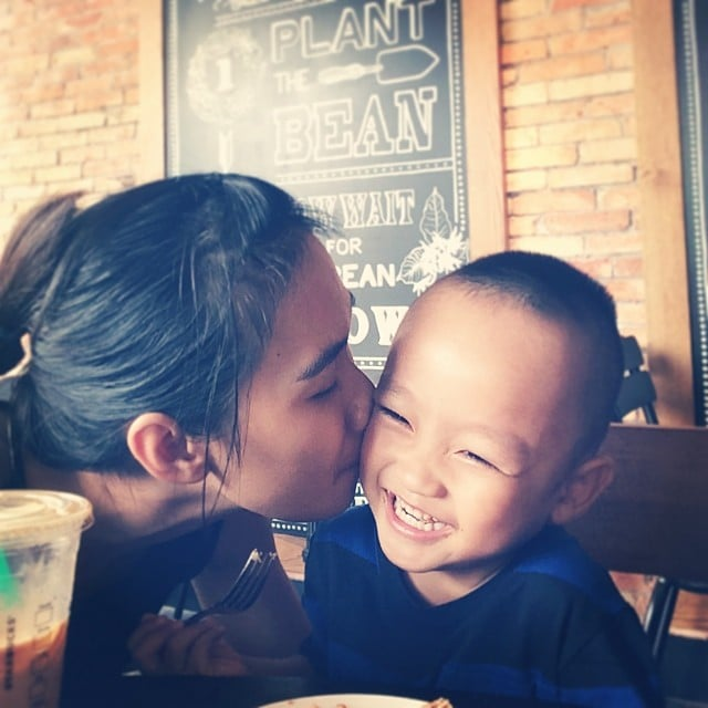"""Kiss, and kiss, and kiss."" — Ines C.  Source: Instagram user  annie10919"