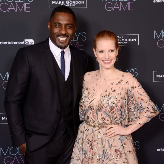 Idris Elba and Jessica Chastain Molly's Game Premiere