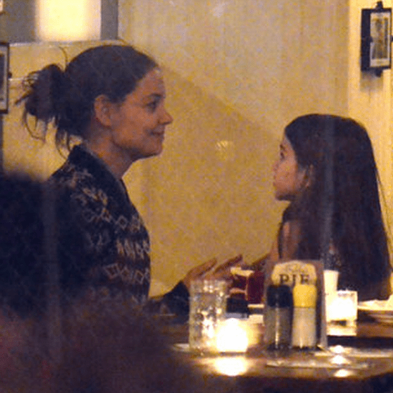 Video of Suri Cruise in New York With Katie Holmes
