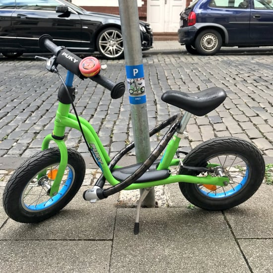 Stranger Makes Boy's Bike a Parking Sticker