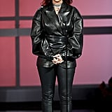 Rihanna's Leather Outfit at the BET Awards 2019