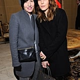 Sharleen Spiteri and Noomi Rapace mingled at the-miumiu-london day two.