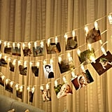 LED Photo Clips String Lights