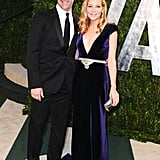 They didn't walk the Oscars' red carpet, but the dapper John Hamm and Jennifer Westfeldt lit up the Vanity Fair afterparty.